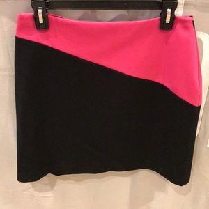 INC Pink and Black Skirt